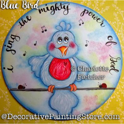 Blue Bird e-Pattern - Charlotte Fletcher - PDF DOWNLOAD