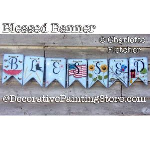 Blessed Banner DOWNLOAD - Charlotte Fletcher