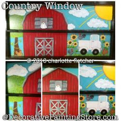 Country Window DOWNLOAD - Charlotte Fletcher