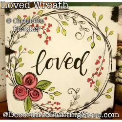 Loved Wreath DOWNLOAD - Charlotte Fletcher