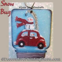 Snow Bug DOWNLOAD Painting Pattern - Charlotte Fletcher