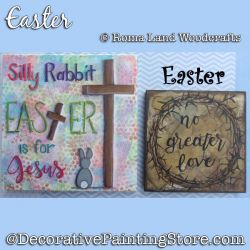 Easter DOWNLOAD Painting Pattern - Charlotte Fletcher