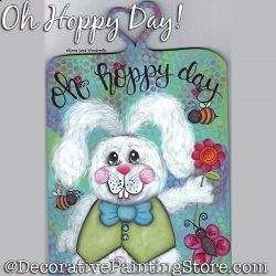 Oh Hoppy Day DOWNLOAD Painting Pattern - Charlotte Fletcher