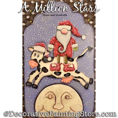 A Million Stars DOWNLOAD Painting Pattern - Charlotte Fletcher