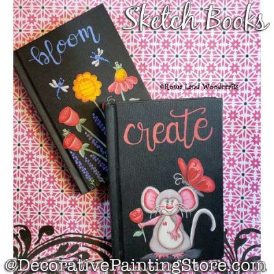 SketchBooks DOWNLOAD Painting Pattern - Charlotte Fletcher