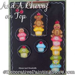 And a Cherry on Top DOWNLOAD Painting Pattern - Charlotte Fletcher