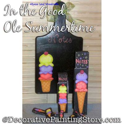 In the Good Ole Summertime DOWNLOAD Painting Pattern - Charlotte Fletcher