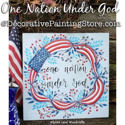 One Nation Under God DOWNLOAD Painting Pattern - Charlotte Fletcher