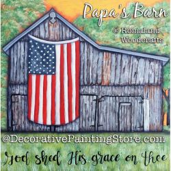 Papas Barn DOWNLOAD Painting Pattern - Charlotte Fletcher