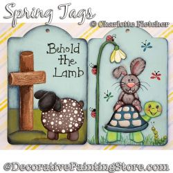 Spring Tags DOWNLOAD - Charlotte Fletcher