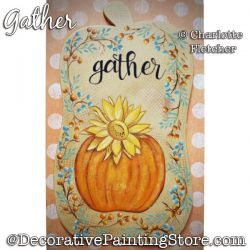 Gather Painting Pattern PDF DOWNLOAD - Charlotte Fletcher