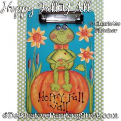 Hoppy Fall Yall Painting Pattern PDF DOWNLOAD - Charlotte Fletcher