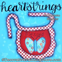 Heartstrings (Apron) Painting Pattern PDF DOWNLOAD - Charlotte Fletcher