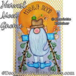 Harvest Moon (Gnome Scarecrow) DOWNLOAD - Charlotte Fletcher