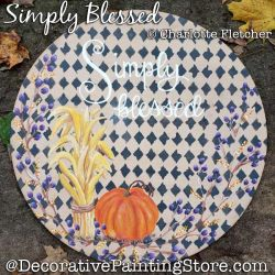 Simply Blessed Painting Pattern PDF DOWNLOAD - Charlotte Fletcher