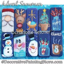 Tiny Treasures (Dominoes) Painting Pattern PDF DOWNLOAD - Charlotte Fletcher