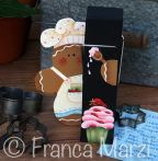Ginger Chef Memo Clip e-Pattern - Franca Marzi - PDF DOWNLOAD
