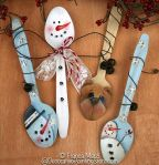 Bear and Winter Spoons ePattern - Franca Marzi - PDF DOWNLOAD