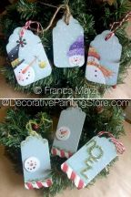 Christmas Tags ePattern - Franca Marzi - PDF DOWNLOAD