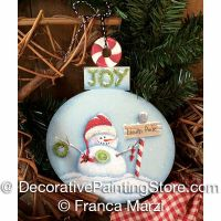 Button Baby Snowman ePattern - Franca Marzi - PDF DOWNLOAD