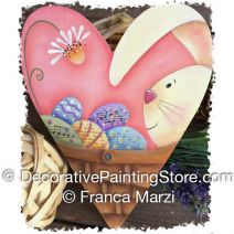 Bunny Heart Basket ePattern - Franca Marzi - PDF DOWNLOAD