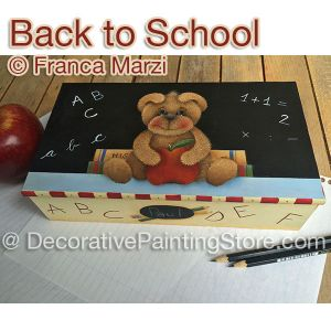 Back to School ePattern - Franca Marzi - PDF DOWNLOAD