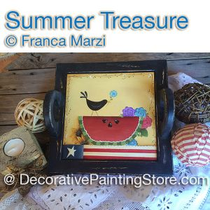 Summer Treasure ePattern - Franca Marzi - PDF DOWNLOAD