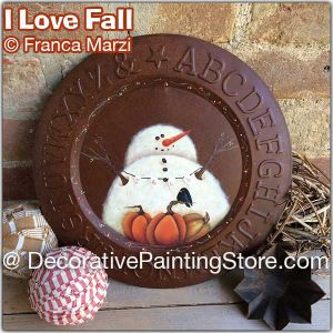 I Love Fall ePattern - Franca Marzi - PDF DOWNLOAD