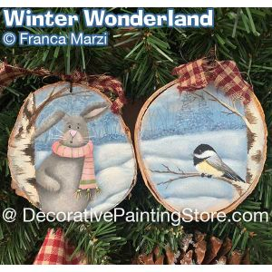Winter Wonderland Animals ePattern - Franca Marzi - PDF DOWNLOAD