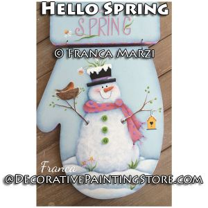 Hello Spring ePattern - Franca Marzi - PDF DOWNLOAD