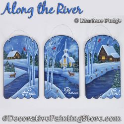 Along the River Painting Pattern PDF DOWNLOAD - Marlene Fudge