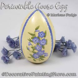 Periwinkle Goose Egg Painting Pattern PDF DOWNLOAD - Marlene Fudge