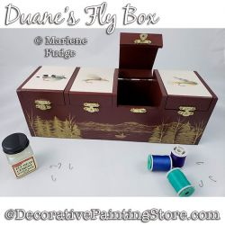 Duanes Fly Box Painting Pattern PDF DOWNLOAD - Marlene Fudge