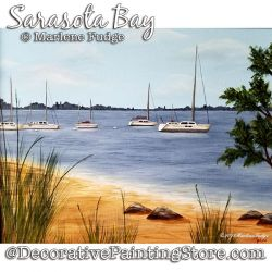 Sarasota Bay Painting Pattern PDF DOWNLOAD - Marlene Fudge