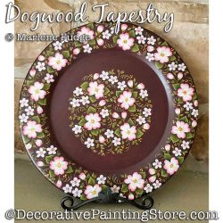 Dogwood Tapestry Painting Pattern PDF DOWNLOAD - Marlene Fudge