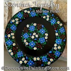 Summer Tapestry Painting Pattern PDF DOWNLOAD - Marlene Fudge