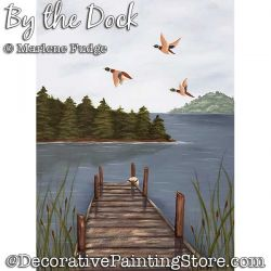 By the Dock Painting Pattern PDF DOWNLOAD - Marlene Fudge