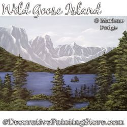Wild Goose Island Painting Pattern PDF DOWNLOAD - Marlene Fudge