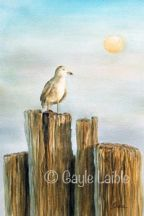 The Sentinel Watercolor - Gayle Laible - PDF DOWNLOAD