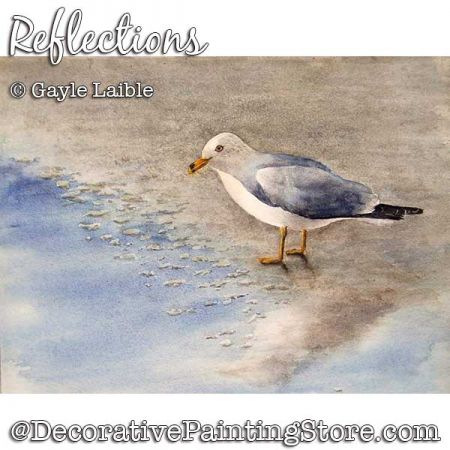 Reflections ePattern - Gayle Laible - PDF DOWNLOAD