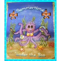 Summer Under the Sea Banner ePattern - Sharon K Hammond - PDF DOWNLOAD