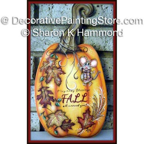 Fall Blessings ePattern - Sharon K Hammond - PDF DOWNLOAD