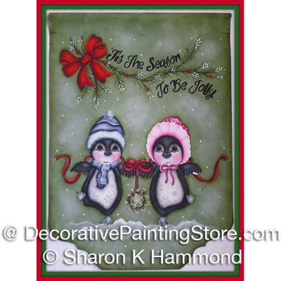 Jolly and Jingles ePattern - Sharon K Hammond - PDF DOWNLOAD