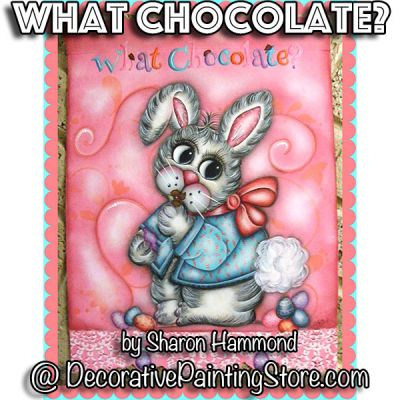 What Chocolate ePattern - Sharon K Hammond - PDF DOWNLOAD