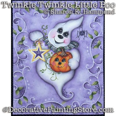 Twinkle Twinkle Little Boo ePattern - Sharon K Hammond - PDF DOWNLOAD