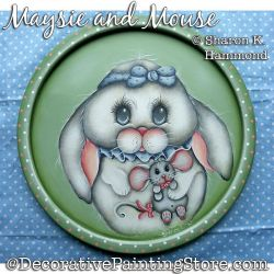 Maysie and Mouse (Rabbit) DOWNLOAD Pattern - Sharon K Hammond