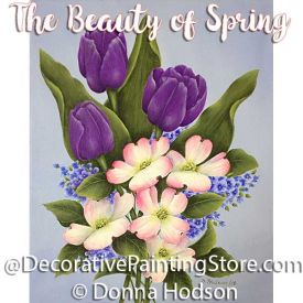 The Beauty of Spring ePattern - Donna Hodson - PDF DOWNLOAD