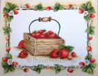 Strawberries Pattern - Donna Hodson - PDF FILE BY DOWNLOAD