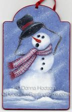 Windy Snowman Pattern - Donna Hodson - PDF DOWNLOAD