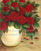 Simply Red Roses ePacket by Donna Hodson - PDF DOWNLOAD